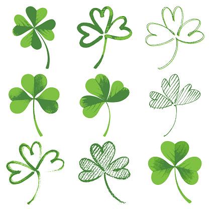 Vector icon of clover