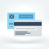 Vector Icon of Credit Card Icon