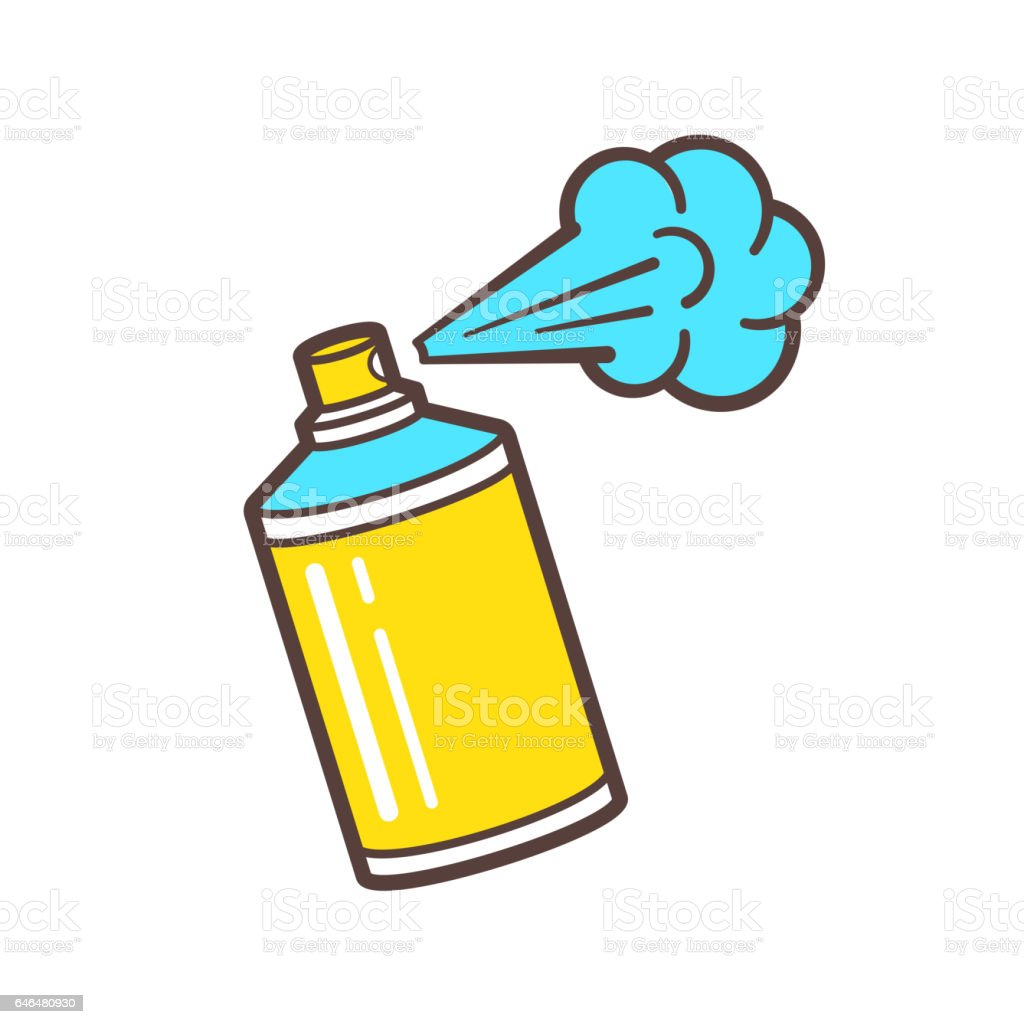 royalty free spray can clip art vector images illustrations istock rh istockphoto com