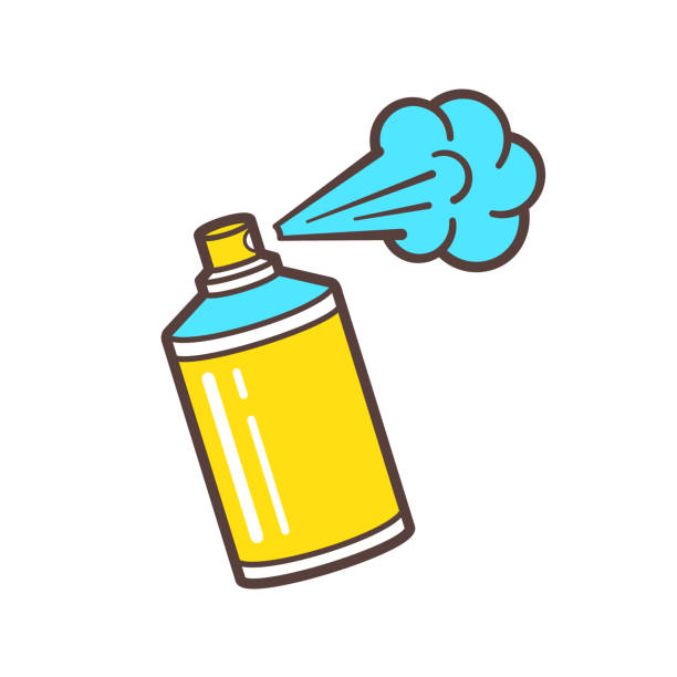 Royalty Free Spray Can Clip Art Vector Images Illustrations Istock