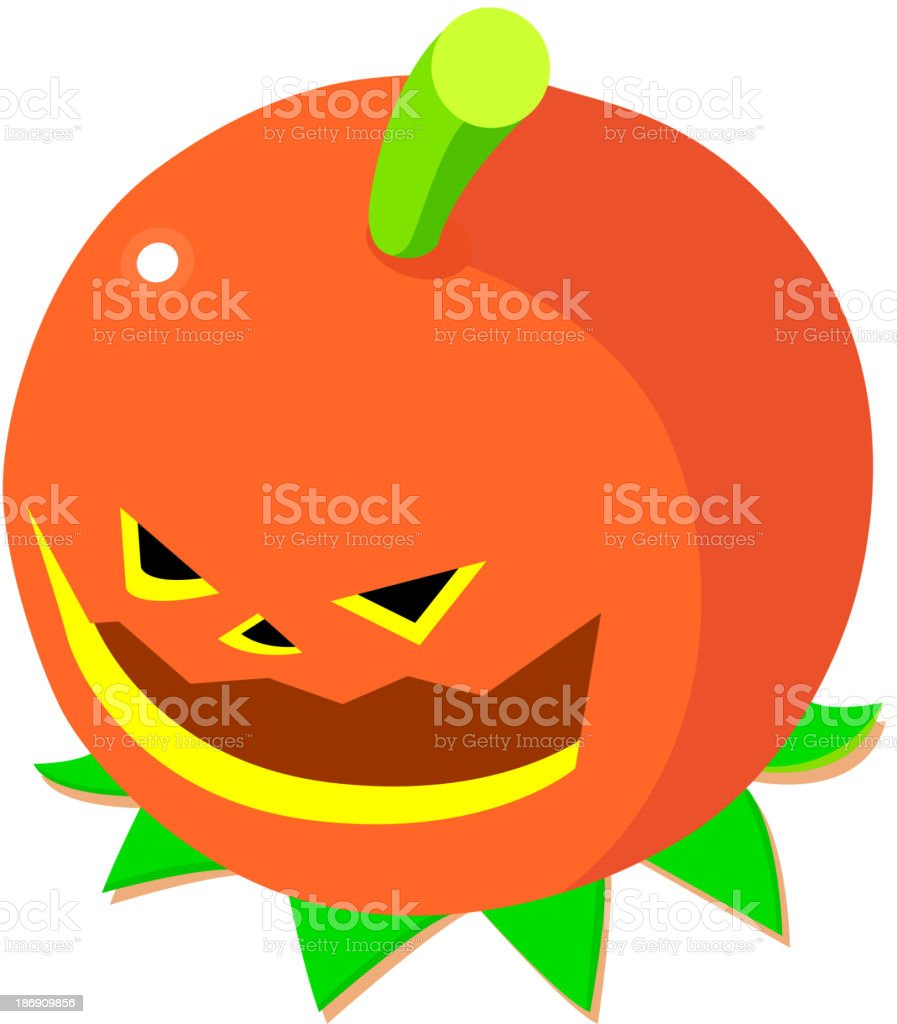 vector icon pumpkin royalty-free stock vector art