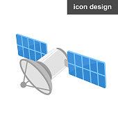 istock Vector icon satellite 1017352500