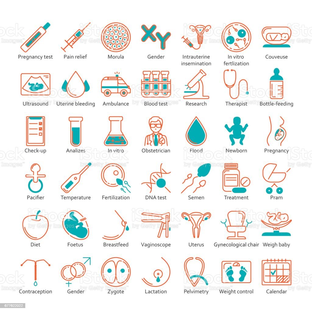 vector icon set vector art illustration