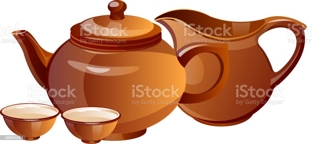 vector icon tea pot royalty-free vector icon tea pot stock vector art & more images of clip art