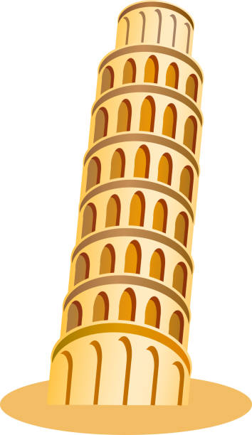 Best Pisa Tower Illustrations, Royalty-Free Vector ...