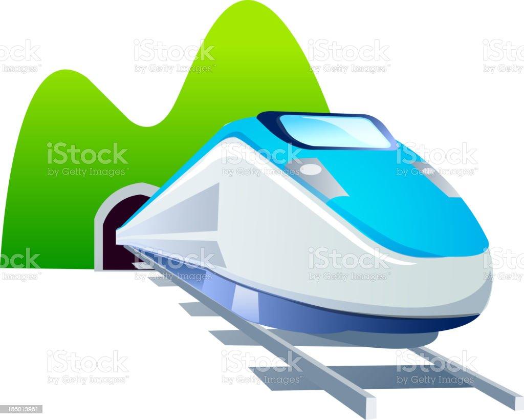 Vector Icon Train stock vector art 186013961 | iStock