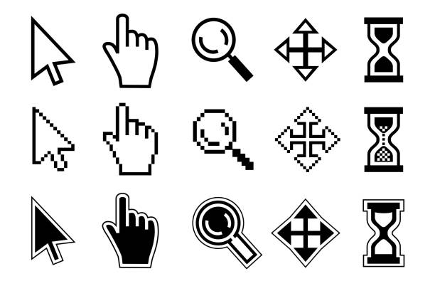 vector icon - mouse stock illustrations