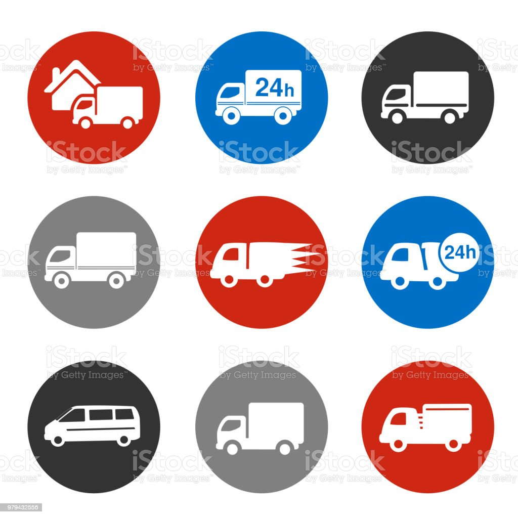 Vector Icons Delivery Method Free Delivery And Quick Delivery Home