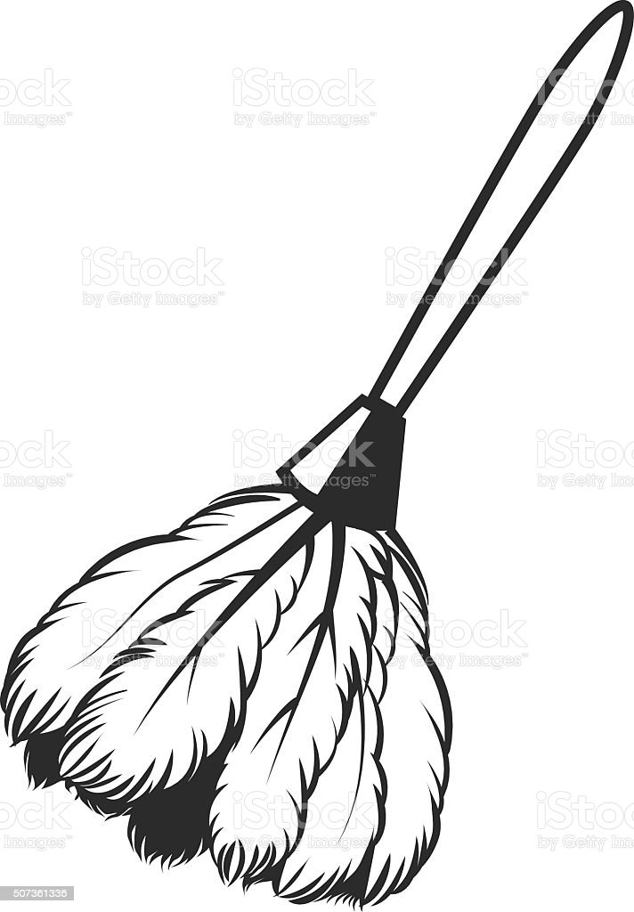 royalty free feather duster clip art vector images illustrations rh istockphoto com