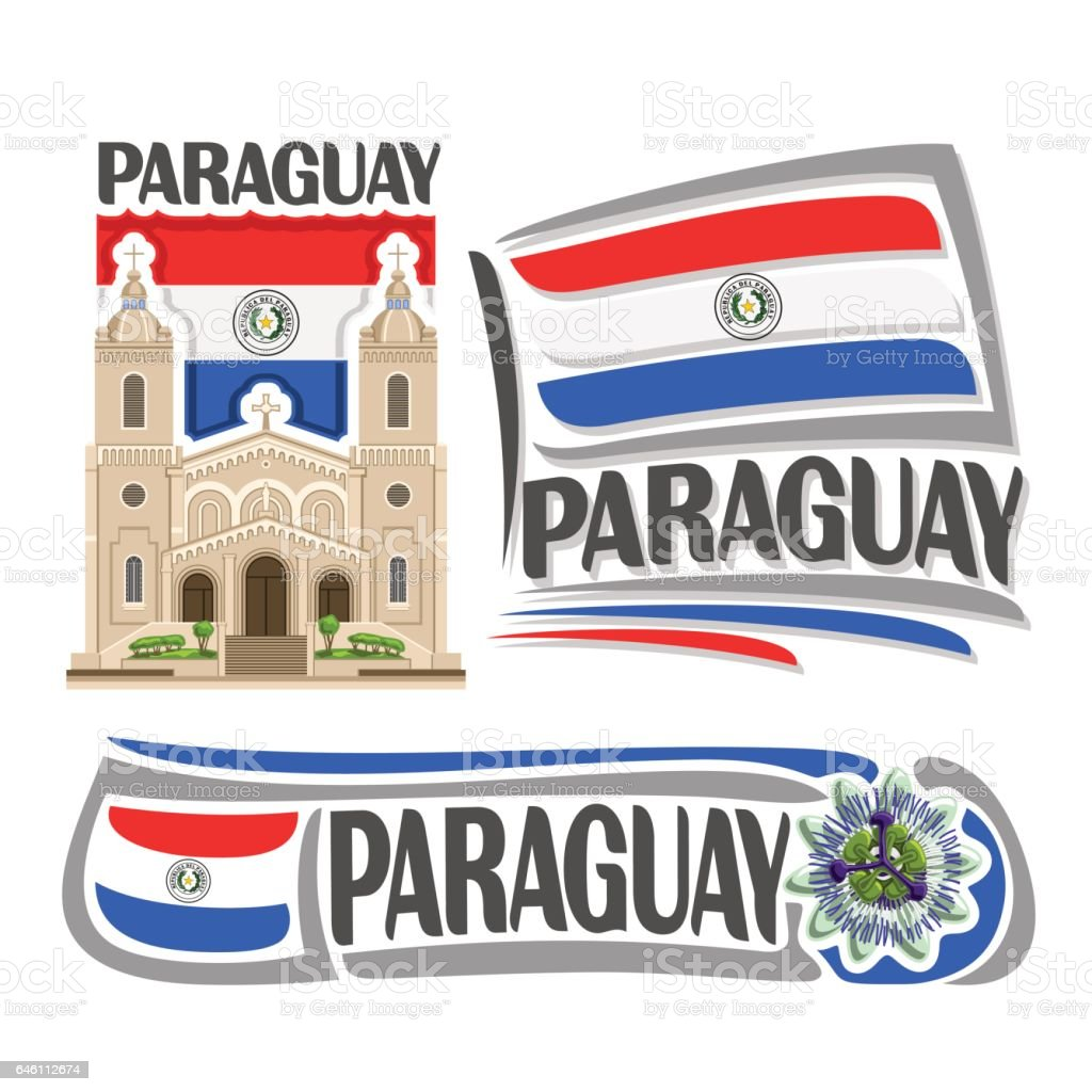 Vector icons for paraguay stock vector art 646112674 istock flag national flag paraguayan flag symbol text buycottarizona