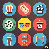 Vector Icons for Web and Mobile Applications. Set 22.