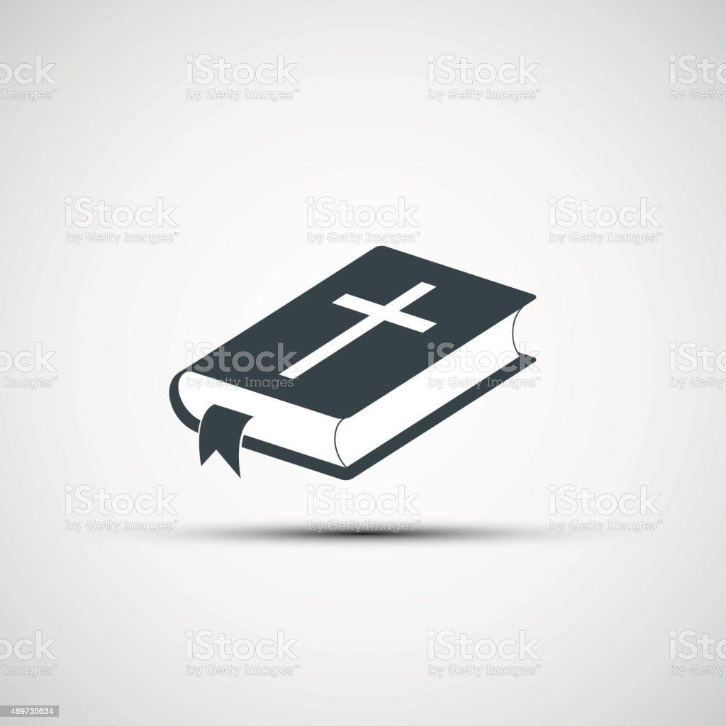 Vector iconos de la Biblia - ilustración de arte vectorial