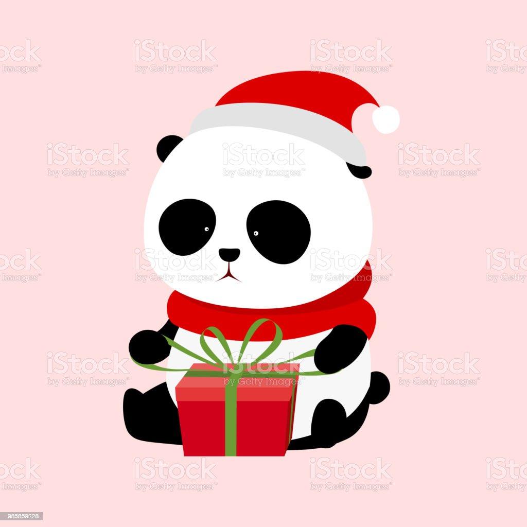Illustration Vectorielle Un Panda Géant De Dessin Animé