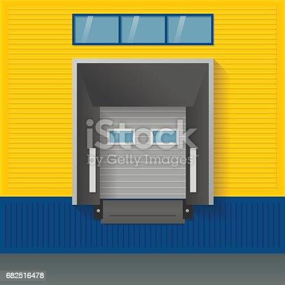 istock Vector illustration about logistics, transportation. 682516478