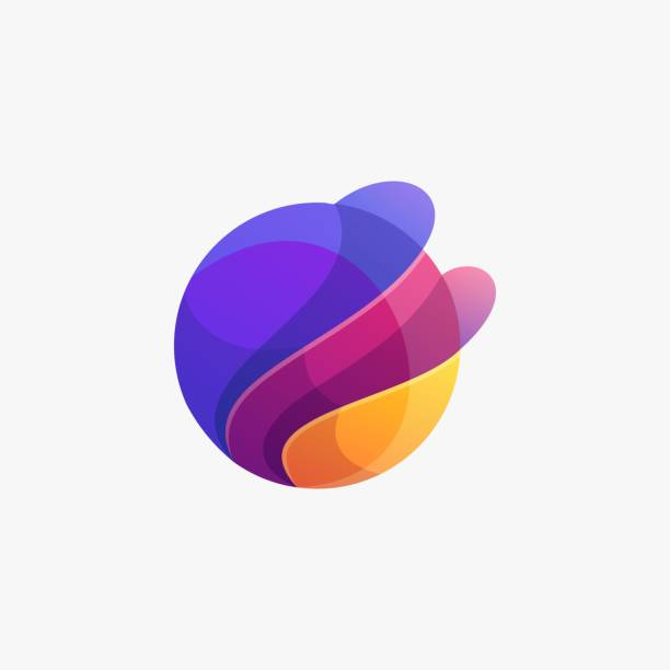 Vector Illustration Abstract Circle Gradient Colorful Style. Vector Illustration Abstract Circle Gradient Colorful Style. composition stock illustrations