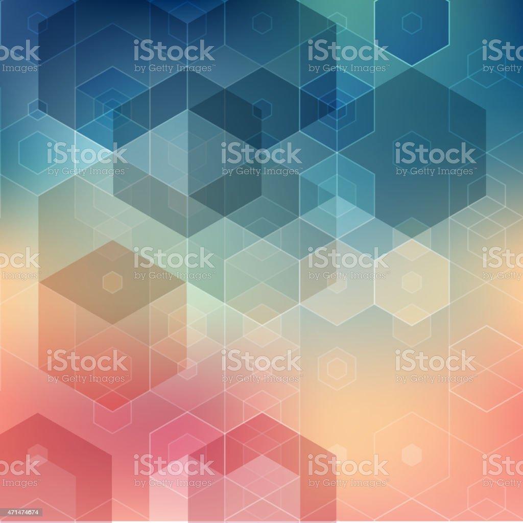 Vector  illustration Abstract geometric background vector art illustration