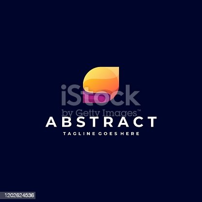 istock Vector Illustration Abstract Leaf Gradient Colorful. 1202624536