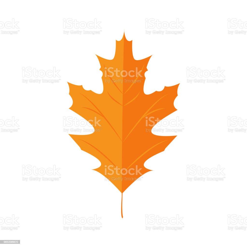 Vector Illustration. Autunm leaf. Red Oak vector illustration autunm leaf red oak - stockowe grafiki wektorowe i więcej obrazów abstrakcja royalty-free