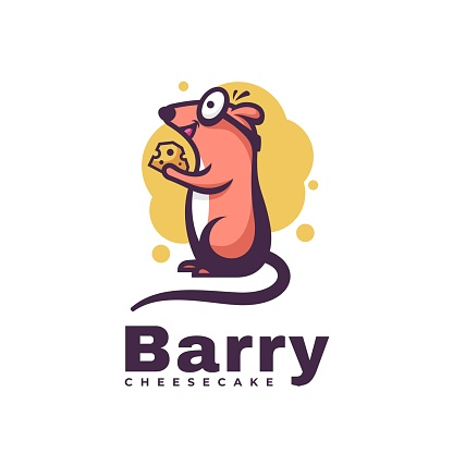 Vector Illustration Barry Simple Mascot Style.