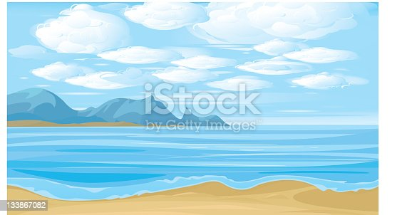 Landscape is my creative drawing and you can use it for your design, made in vector, Adobe Illustrator 8 EPS file.