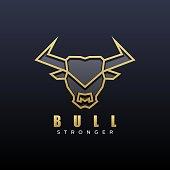 istock Vector Illustration Bull Shit Line Art Style. 1253593333