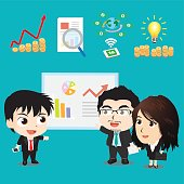 Vector illustration - Business Character Design Set