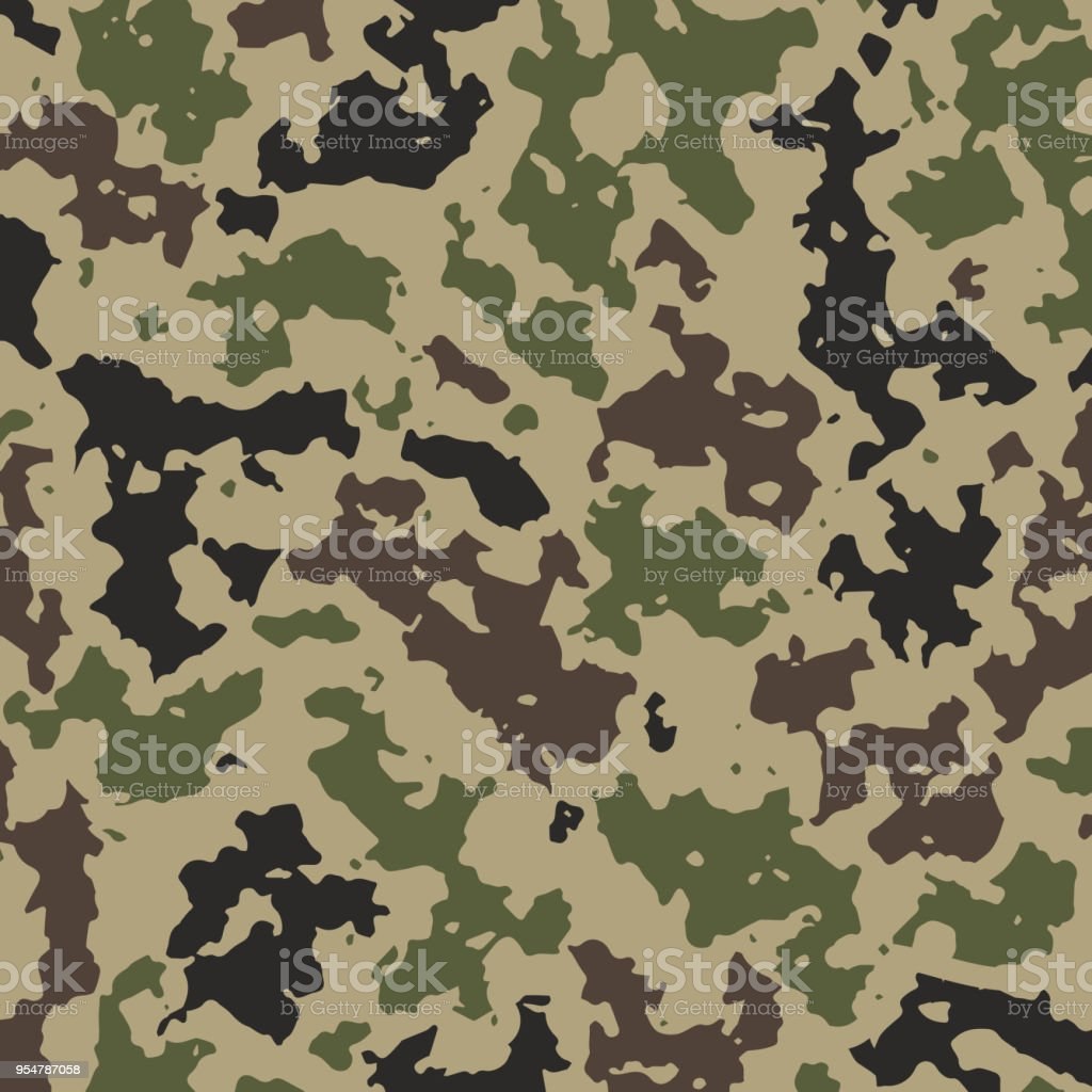 vector illustration camouflage background for military clothes