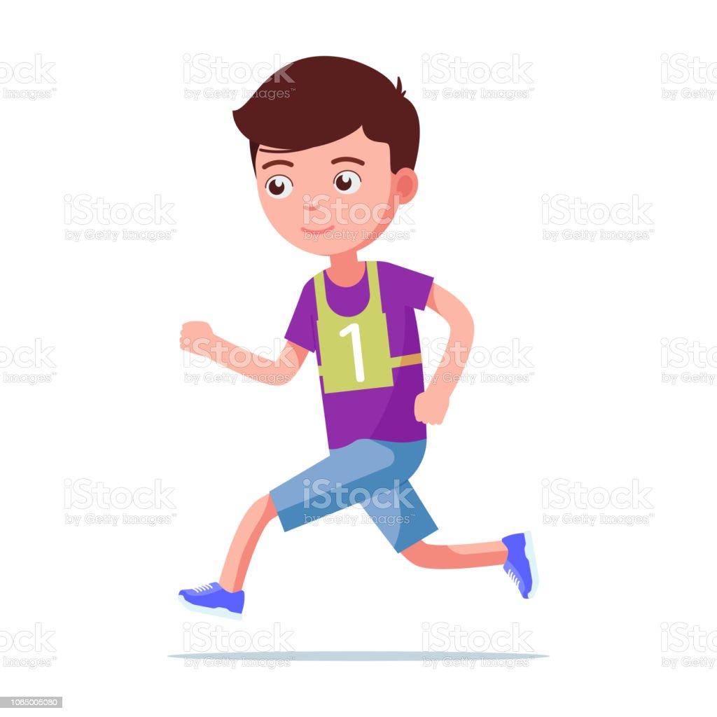 マラソンをする女性のイラスト 無料イラストのimt 商用ok加工ok