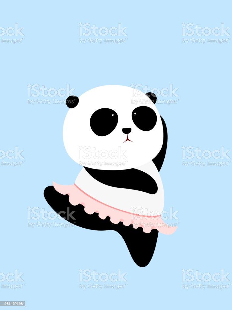 Ilustración De Ilustración De Vector Oso Panda Gigante De