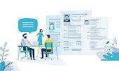 Creative flat design for web banner, marketing material, business presentation, online advertising.