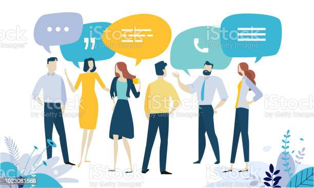 Vector Illustration Concept Of Testimonial Social Media Networking Business Communication Forum Product Review Stock Illustration - Download Image Now