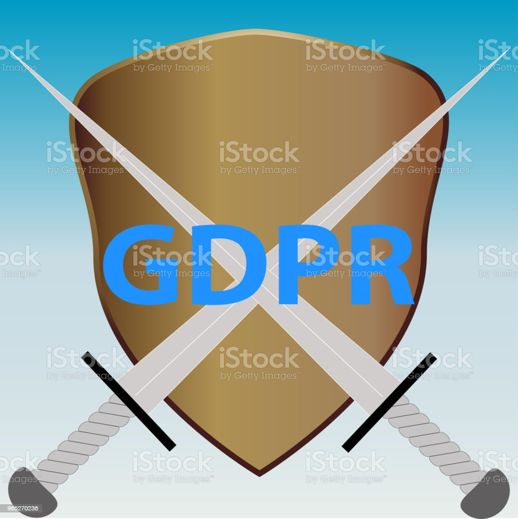 vector illustration conceptually depicting a GENERAL DATA PROTECTION REGULATION royalty-free vector illustration conceptually depicting a general data protection regulation stock illustration - download image now