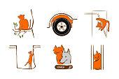 istock Vector illustration design for pet rescue service 1256117549