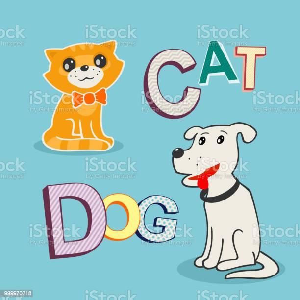 Vector illustration dog and cat vector id999970718?b=1&k=6&m=999970718&s=612x612&h=dahzxnunfm xwbggospzcgj6hw0hcnjerpbxoibpdlm=