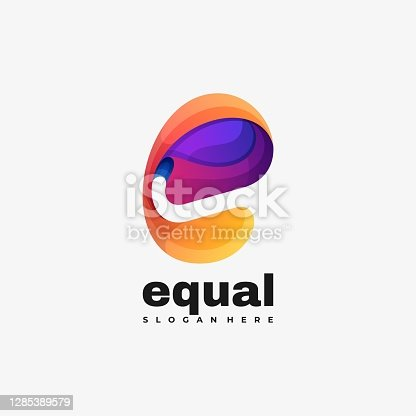 istock Vector Illustration Equal Gradient Colorful Style. 1285389579