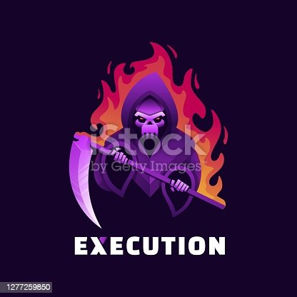 istock Vector Illustration Execution Gradient Colorful Style. 1277259850