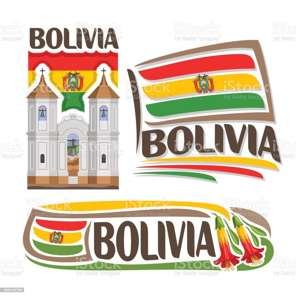 Ilustración de vector de Bolivia - ilustración de arte vectorial