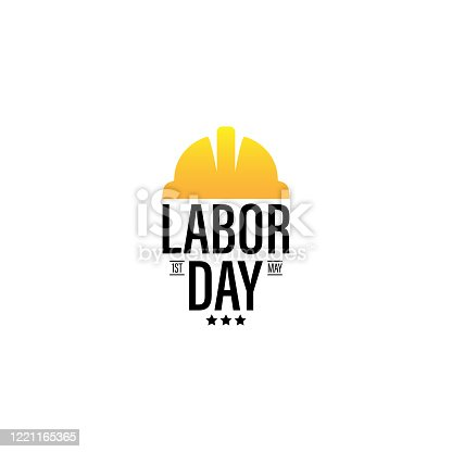 istock Vector illustration for International Workers' Day Celebration on May 1st, also known as May Day. Can be used for Greetings, Banner, Background, Template, Badge, Symbol, Icon, Logo and Print design. 1221165365