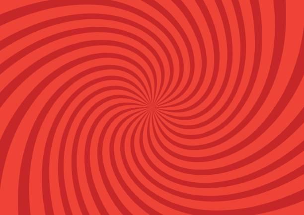 векторная иллюстрация для дизайна вихря. закрученный радиальный фон шаблона. вихрь звездообразования спираль вертеть площади. лучи вращен - закрученный stock illustrations