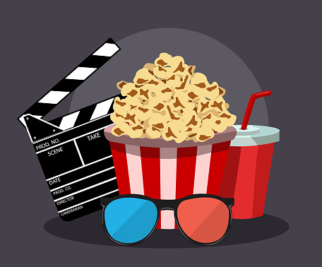 Vector illustration for the film industry