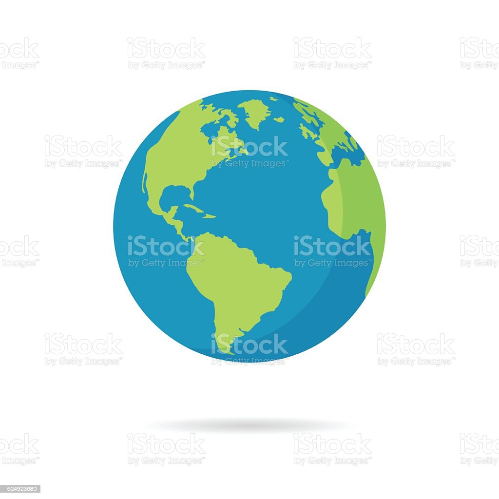 royalty free planet earth clip art vector images illustrations rh istockphoto com vector earth map vector earth logo