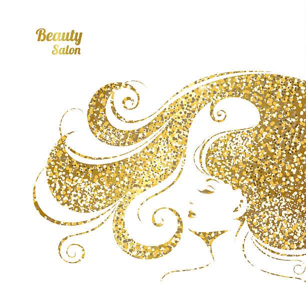 ベクトルイラストの女性のビューティサロンです。 - 美容室点のイラスト素材/クリップアート素材/マンガ素材/アイコン素材