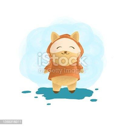istock Vector Illustration Fox Mascot Cartoon Style. 1255318311