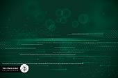 Technology, Gear, Data, Equipment, Internet, Green