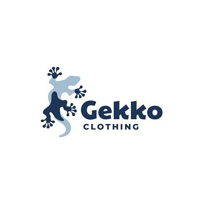 Vector Illustration Gecko Mascot Style.