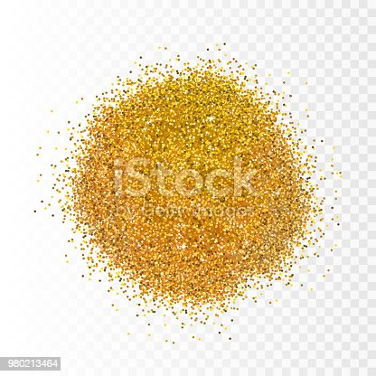 Vector illustration gold sparkles on transparent background. Glitter background. Golden backdrop for card, vip, exclusive, certificate, gift. Luxury privilege voucher store present, shopping.