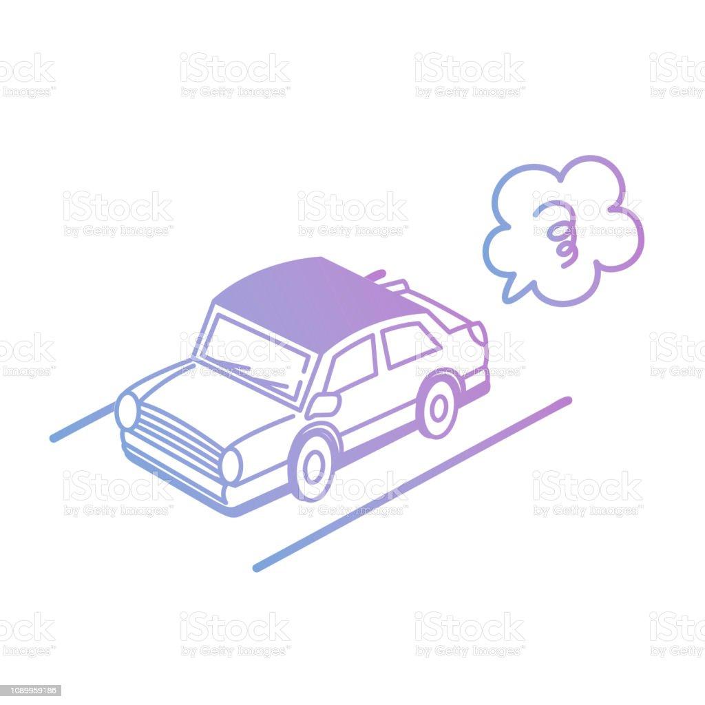 The Best Pastel Cartoon Car PNG