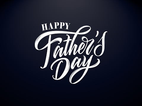 Vector illustration Happy Father`s Day
