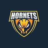 Vector Illustration Hornets E Sports Style.