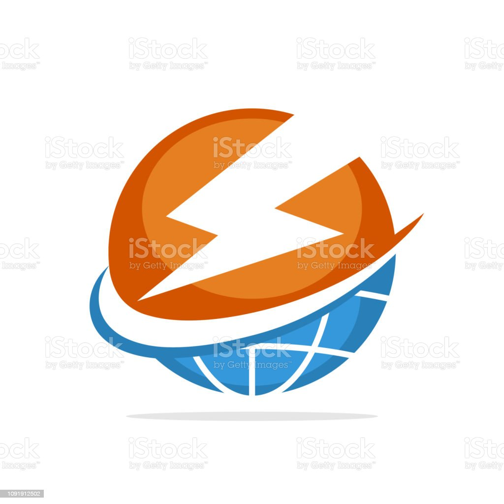 Vector illustration icon with the concept of global energy management